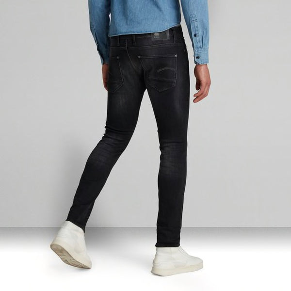 G-STAR RAW: REVEND SKINNY Denim Jeans (Medium Aged Faded)