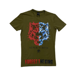 Just Man: Just Man T-Shirt (Forest the King Green)