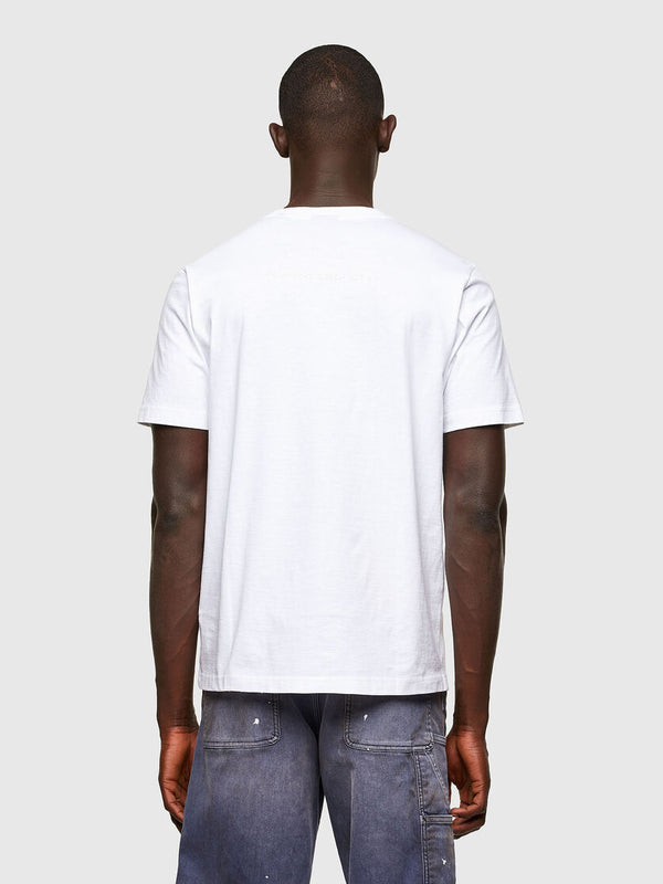 DIESEL: T-JUST-A43 T-Shirt (White)
