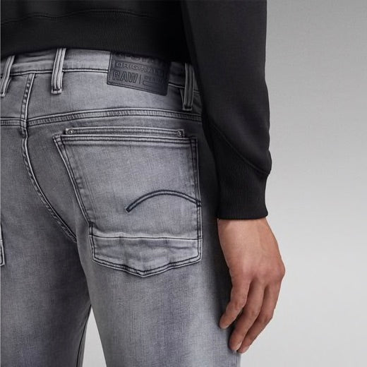 G-STAR RAW: LANCET SKINNY (Sun Faded Glacier Grey)