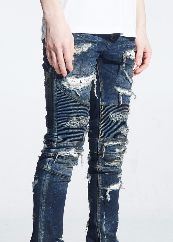 Embellish: AMBROSE BIKER DENIM