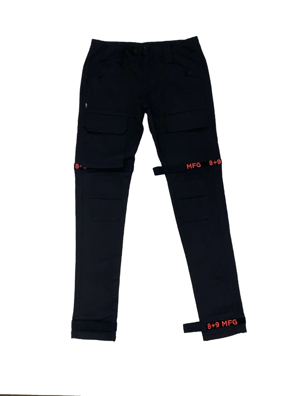 8&9: 8&9 Strapped Up Vintage Utility Pants (Infrared)