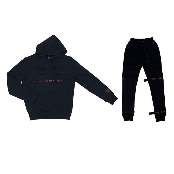 8&9: 8&9 Strapped Up Fleece Set (Bred)