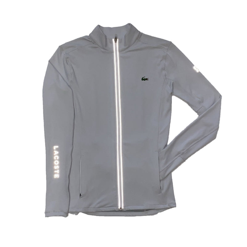 Lacoste: Men's Lacoste Sport Novak Djokovic Jacket (Elephant Grey)