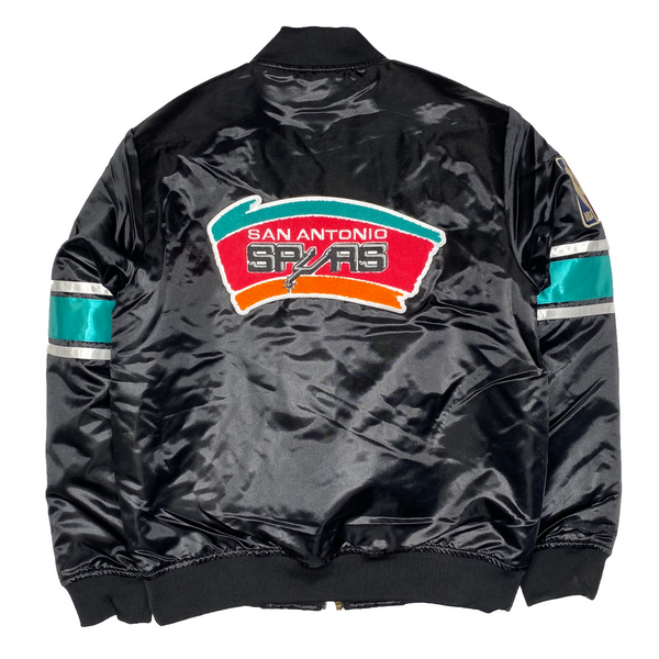 Mitchell & Ness: Retro NBA Heavyweight Jacket (Spurs)