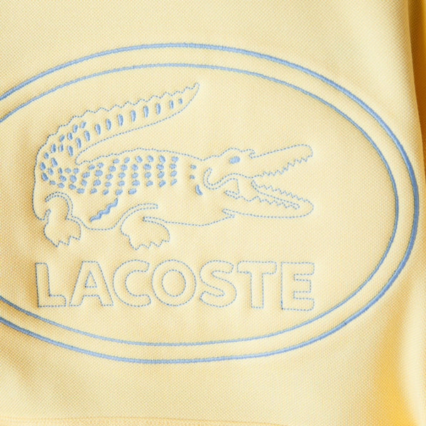 Lacoste: Embroidered Logo Hoodie (Yellow)