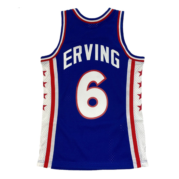 Mitchell & Ness: NBA Swingman Collection Julius Irving Jersey ('76 Sixers - Away)