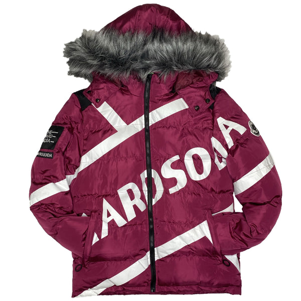 HARD SODA: El Professor Jacket (Velvet Red)