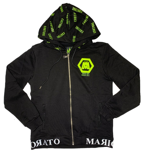Mario Morato: Couture Round-Table Hoodie (Black)