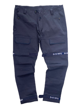 8&9: 8&9 Strapped Up Vintage Utility Pants (Navy)