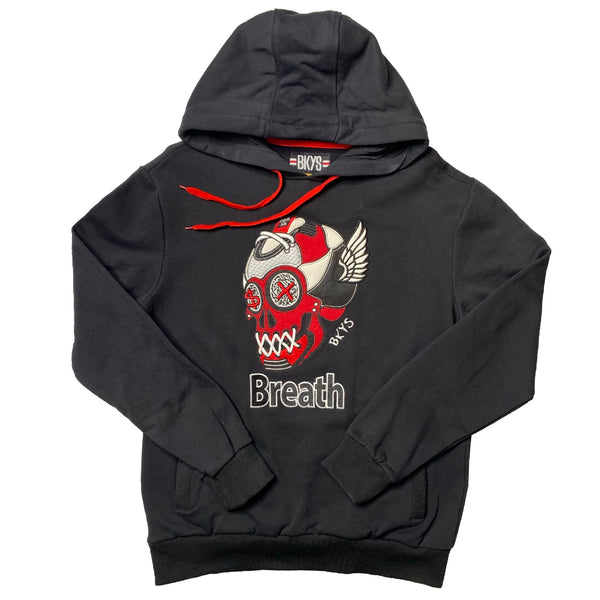 BKYS: Breath Hoodie (Black/Red)