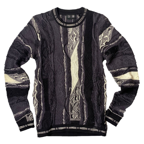 COOGI: Australia Sweater (Black/Grey/White)