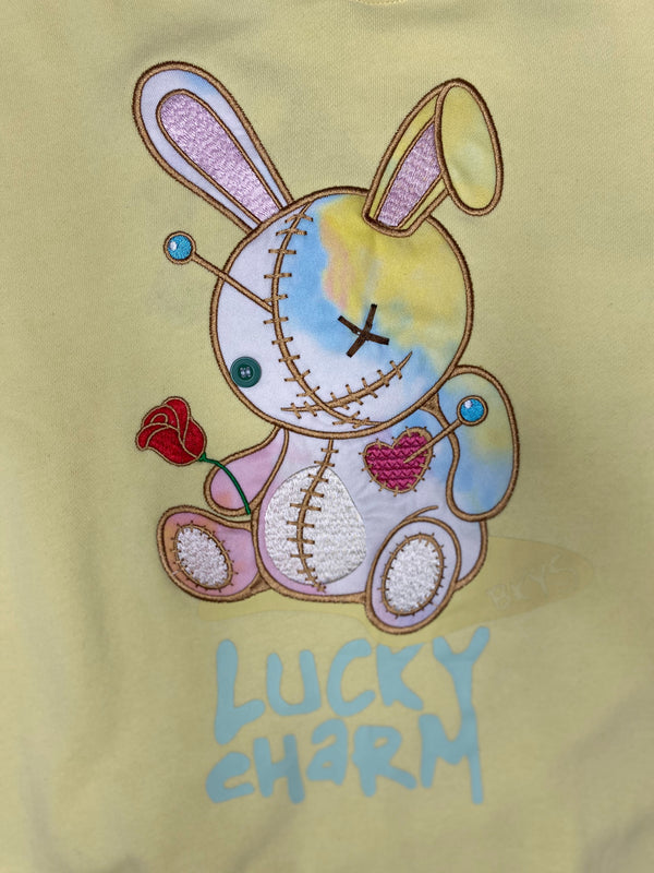 BKYS: Lucky Charm Crewneck (Pale Yellow)