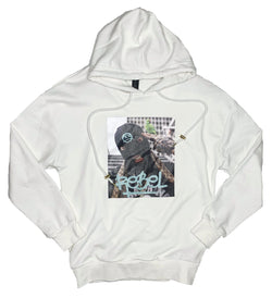Plus Eighteen: Rebel Hoodie (White)