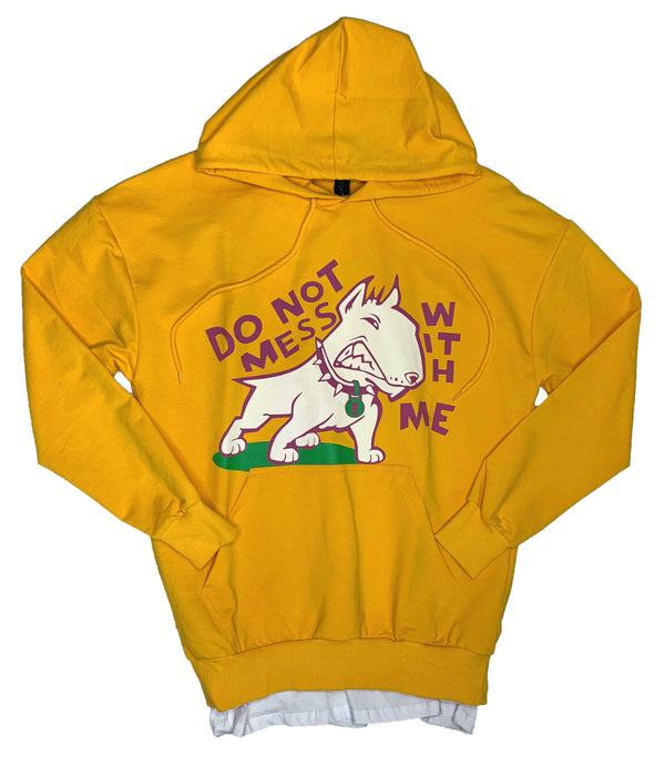 Plus Eighteen: Do Not Mess With Me Hoodie (Yellow)