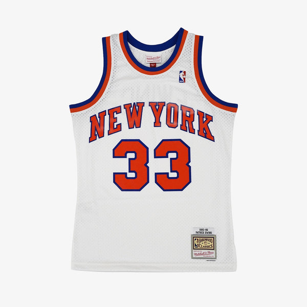 Mitchell & Ness NBA Swingman Collection Patrick Ewing Jersey ('85 Knicks - Home)