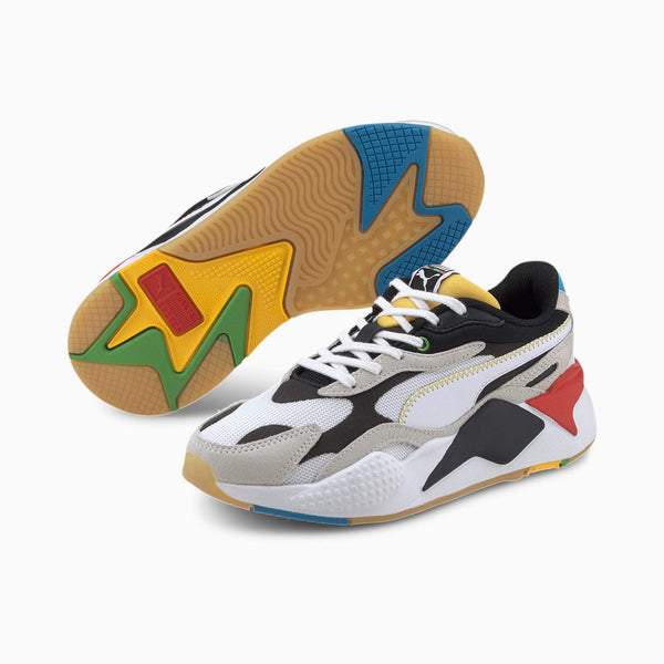 PUMA: RS-X3 WH (WHITE, BLACK)