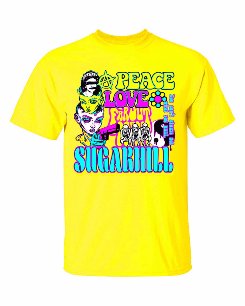 Sugar Hill: HIPPIE T-SHIRT (YELLOW)