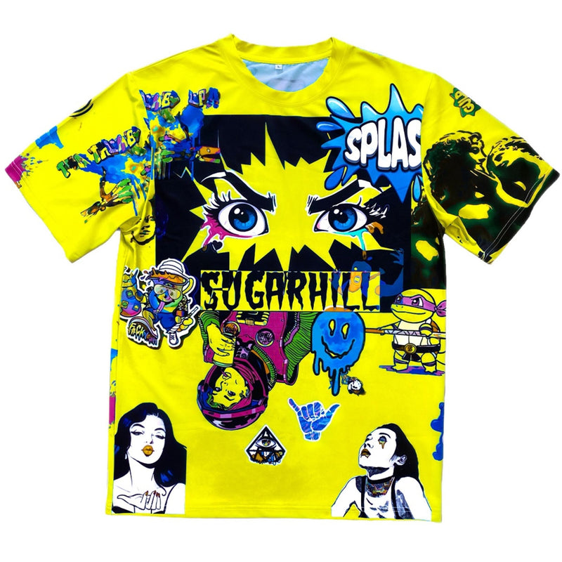 Sugar Hill: Psycho T-Shirt (Yellow)