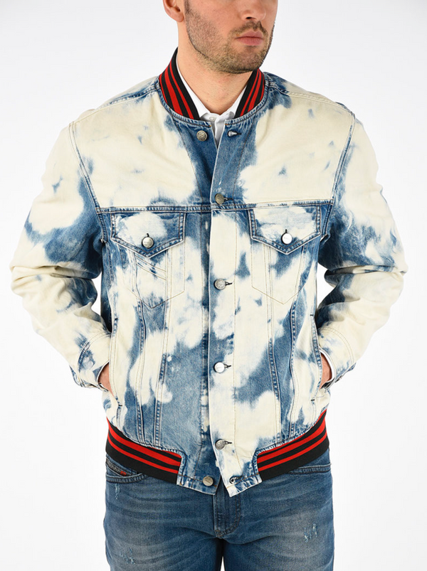DIESEL: D-SHAN JACKET (DENIM)