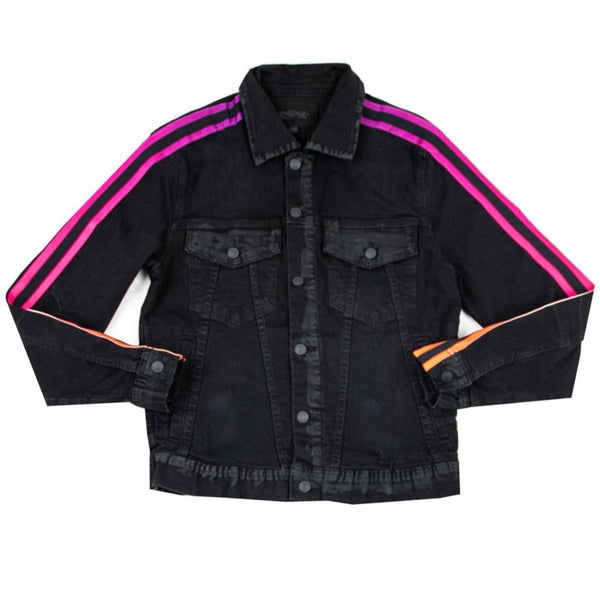 Mackeen Denim: Perry Denim Jacket (Black)