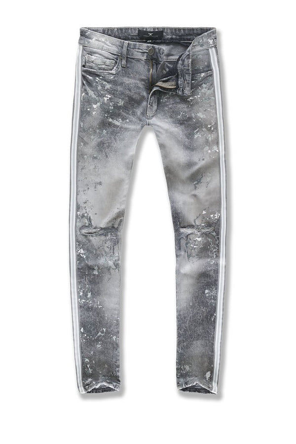 Jordan Craig: Striped Denim (Arctic White)