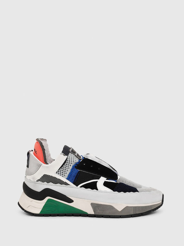 Diesel: S-BRENTHA DEC SLIP-ON SNEAKERS (MULTI COLOR)