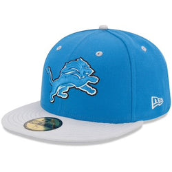 New Era Authentic 59Fifty Fitted: Detroit Lions