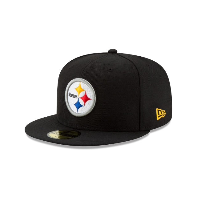 New Era Authentic 59Fifty Fitted: Pittsburgh Steelers (Black)