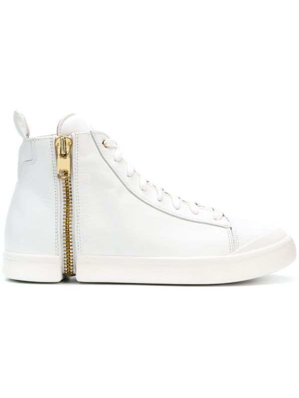 Diesel: S-NENTISH SNEAKERS (WHITE)