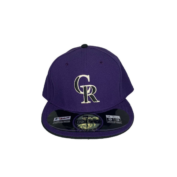 New Era Authentic 59Fifty Fitted: Colorado Rockies ( Purple)