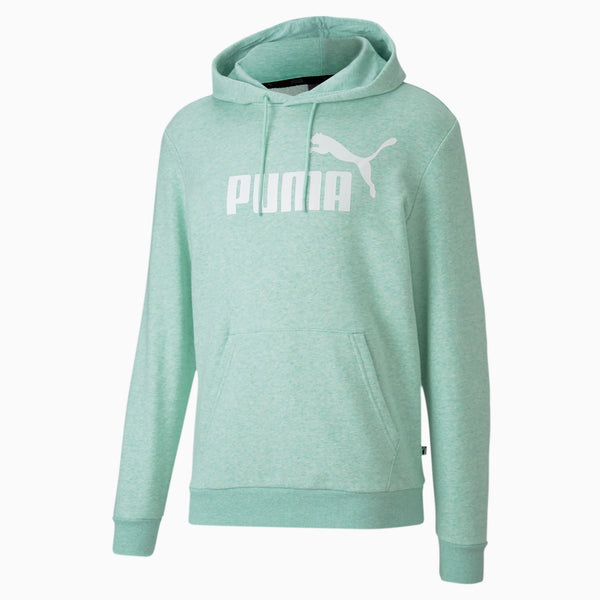 PUMA: ESS+ Fleece Hoody (Mist Green Heather)