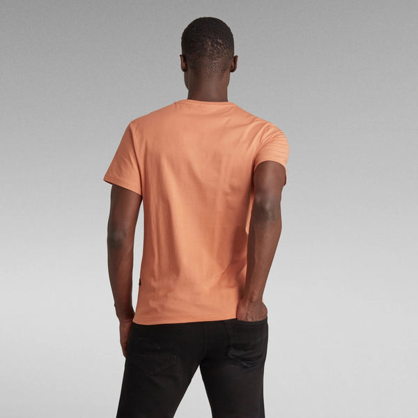 G-Star Raw: BASE-S V-NECK T-SHIRT (LIGHT PASTE)