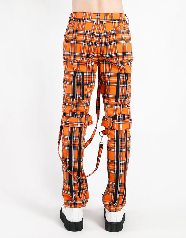 TRIPP: Plaid Bondage Jeans (Orange)