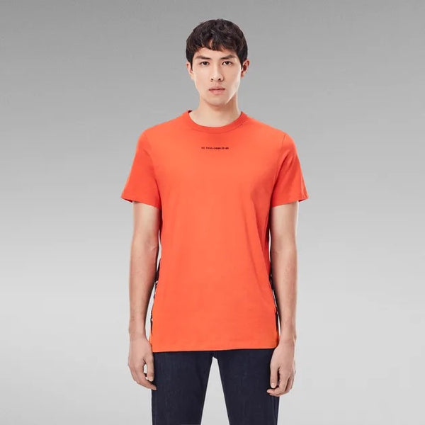 G-STAR RAW: SPORT A TAPE T-SHIRT (ACID ORANGE)