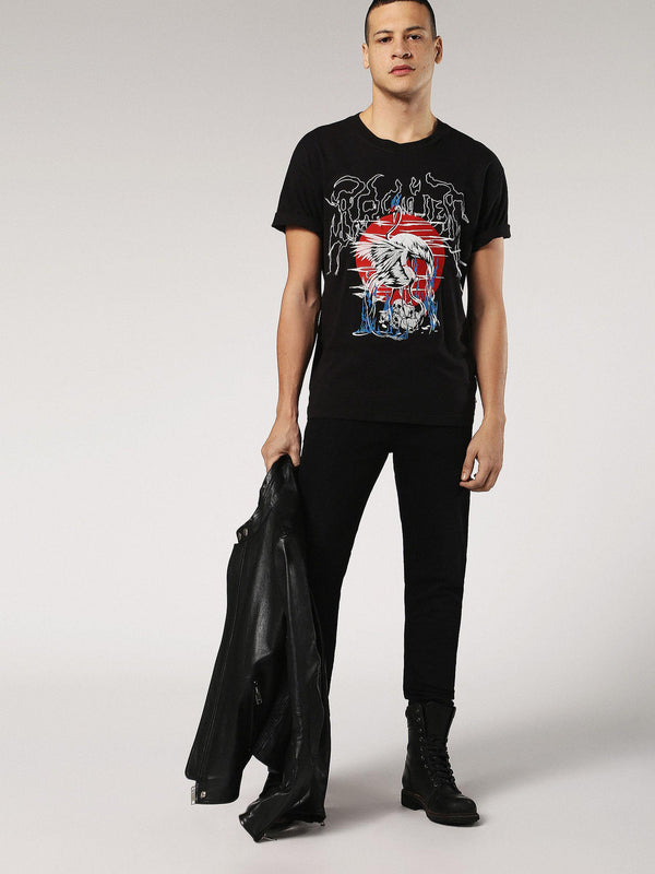 Diesel: T-WALLACE-SG T-Shirt (Black)