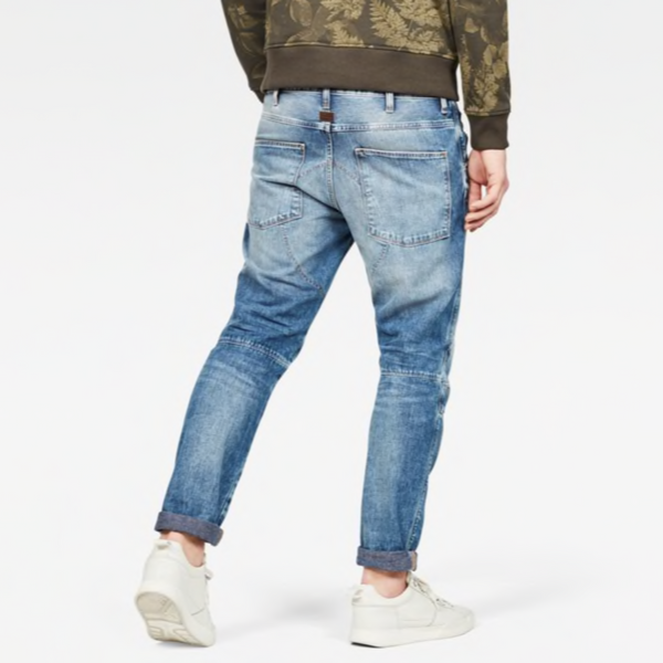 G-STAR RAW: 5620 STRAIGHT TAPERED Denim Jeans (WORN IN MEDIUM AGED)