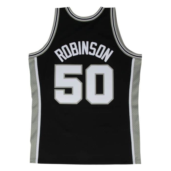 Mitchell & Ness NBA Swingman Collection David Robinson Jersey ('98 Spurs - Road)