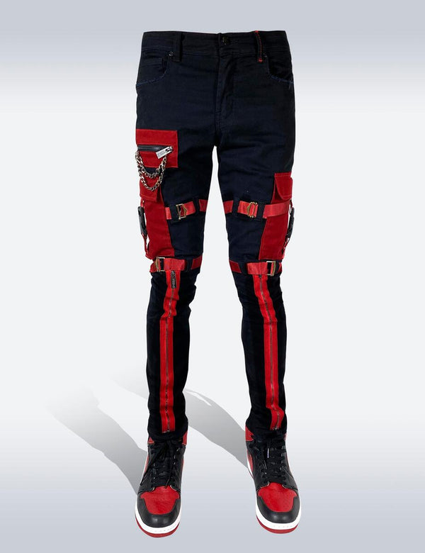 Preme: Strapped Up (Red/Black)