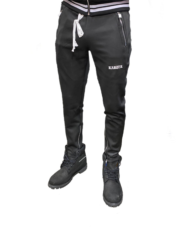Karter Collection: Roosevelt Track Pants (Black)