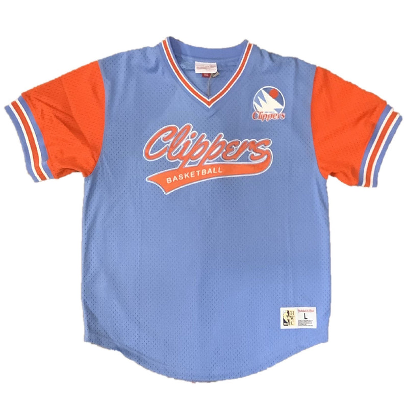 Mitchell & Ness: Mitchell & Ness Authentic BP Jersey Los Angeles Clippers