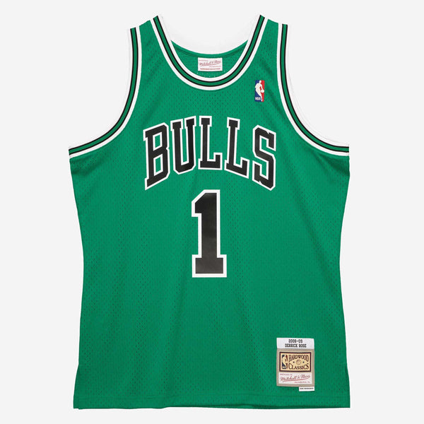 Mitchell & Ness: NBA Swingman Collection Derrick Rose Jersey ('08 Bulls - Alt Green)
