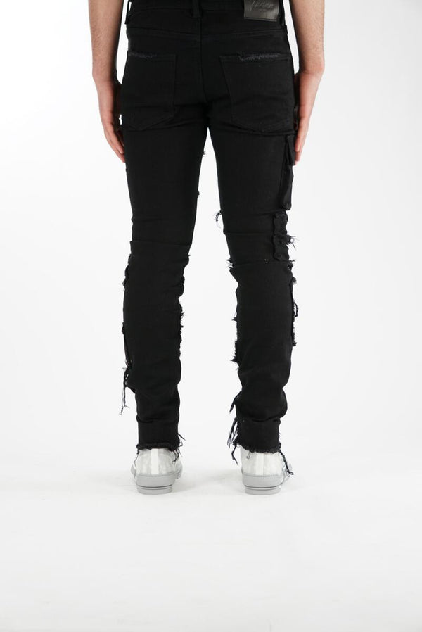 Valabasas Jeans: THE 70's (BLACK)