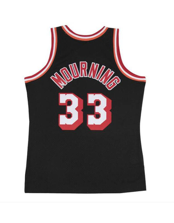 Mitchell & Ness NBA Swingman Collection Alonzo Mourning Jersey ('96 Mourning - Road)