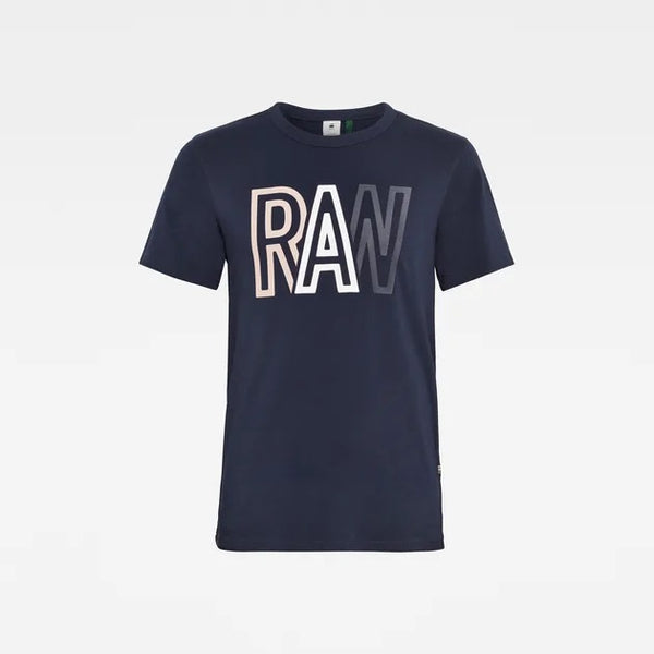 G-STAR RAW: RAW T-SHIRT (Sartho Blue)