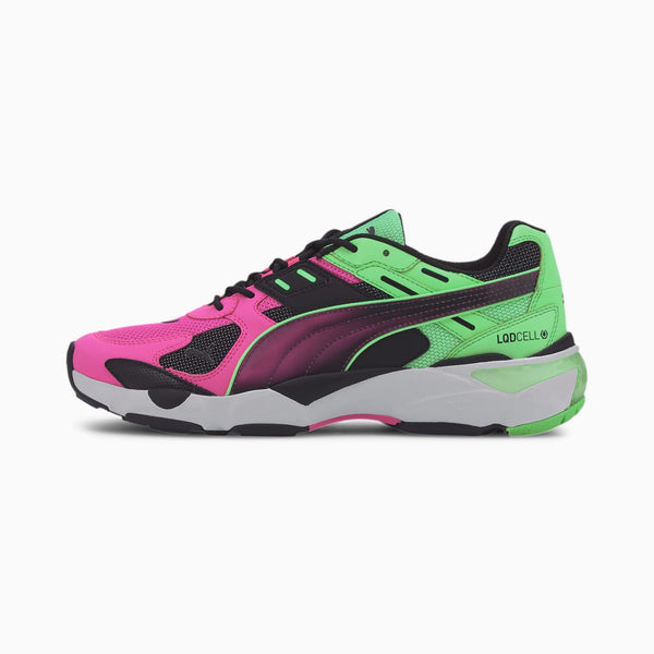 PUMA: LQD CELL EXTOL OLD CIRCUITS (BLACK, LUMINOUS PINK)