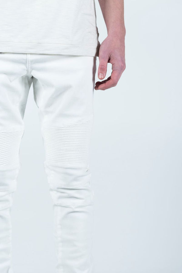 Embellish: SPENCER BIKER - WHITE