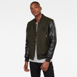 G-Star Raw: BOLT LEATHER BOMBER JACKET (Asphalt)