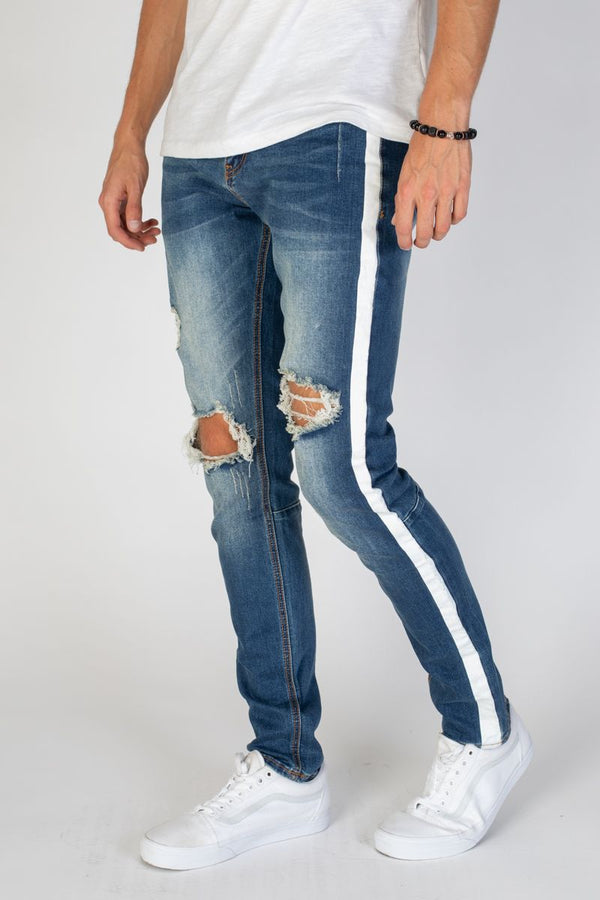 KDNK: Comfort Stretch Denim (Racer)