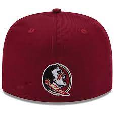 New Era Authentic 59Fifty Fitted: Florida State Seminoles (Burgundy)